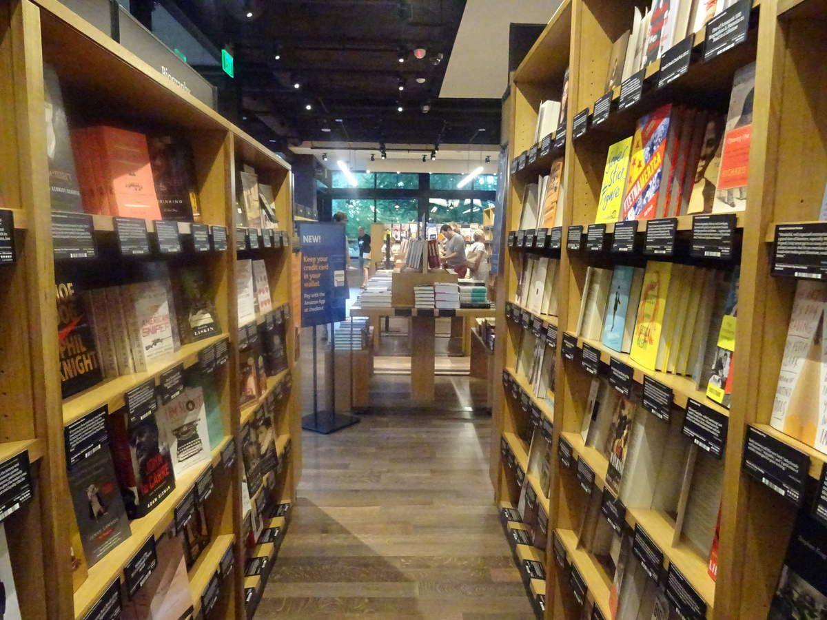 Amazon Books : une vraie librairie