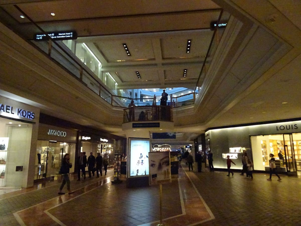Retail Playlist n°52 : Boston (1) Copley Place