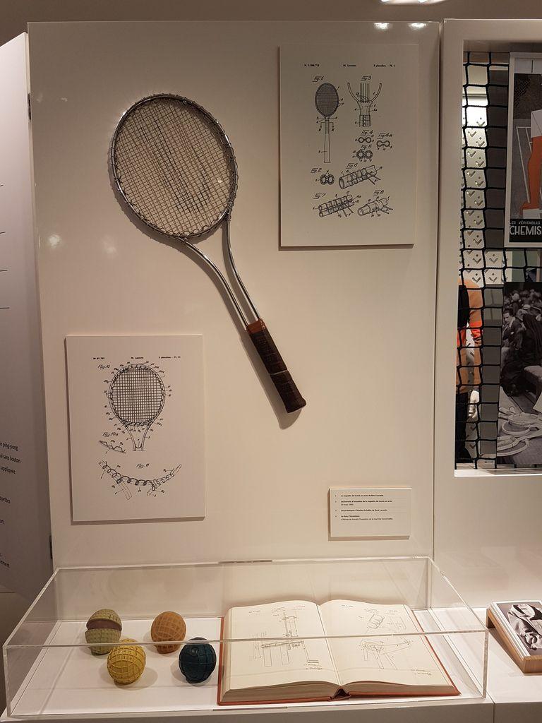 La raquette de René Lacoste