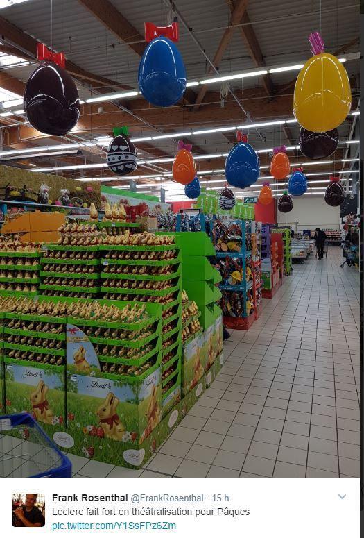 Retail Tweets 24 : Pâques : les oeufs : prétexte de théâtralisation