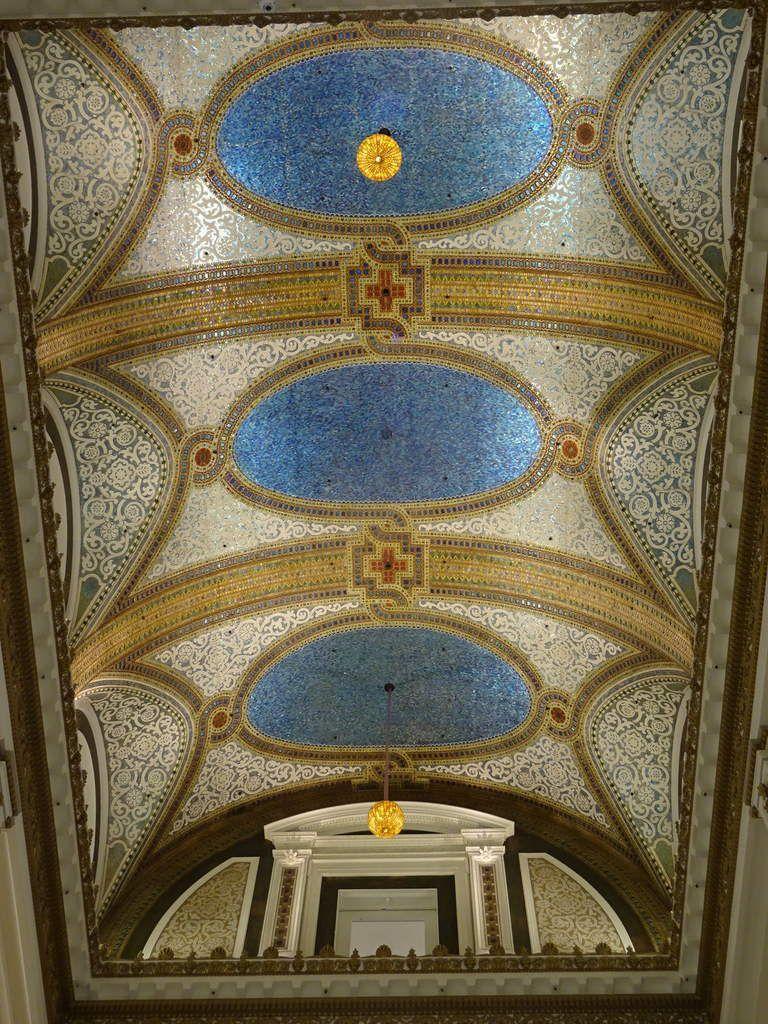 Le plafond Tiffany