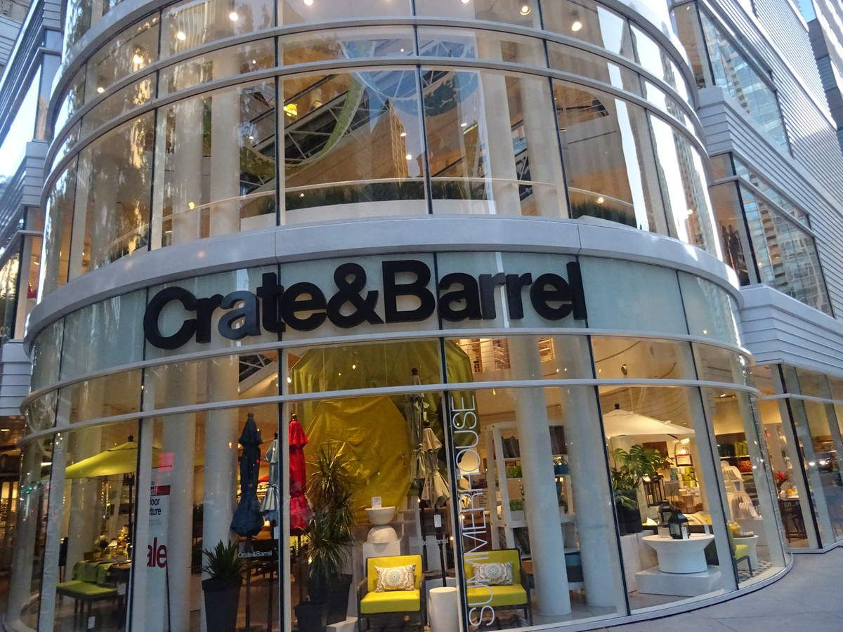 L'immeuble de Crate & Barrel