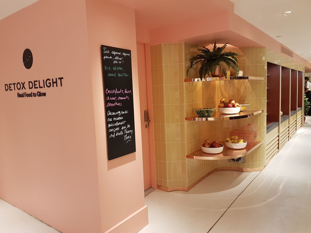 La Scent Room et le Detox Delight, le resturant detox, deux initiatives originales