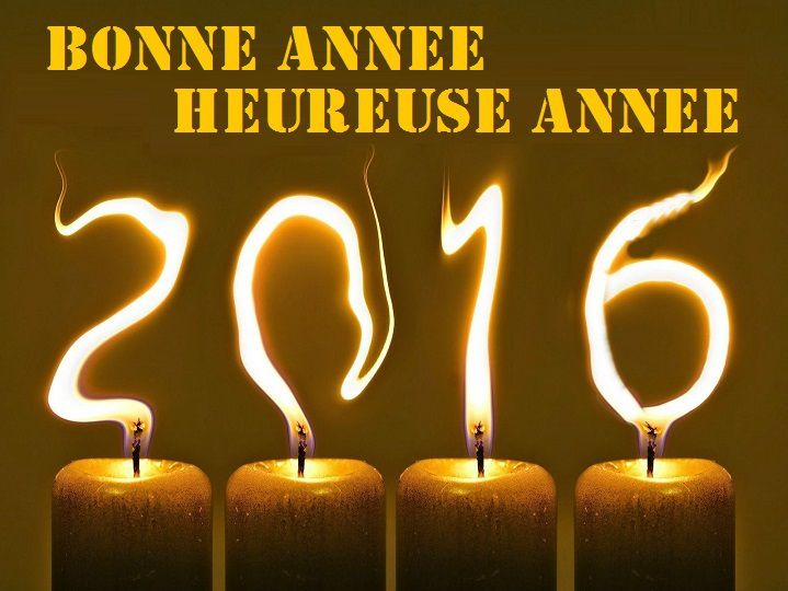 Heureuse année 2016 !!!  Happy New Year 2016 !!!