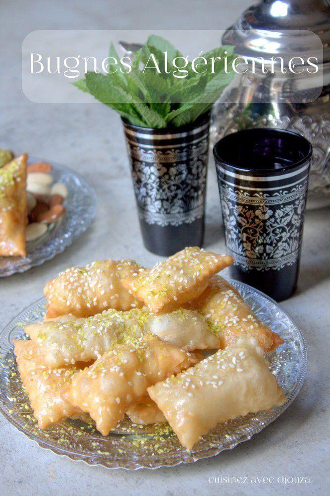 Bugnes algériennes recette ramadan