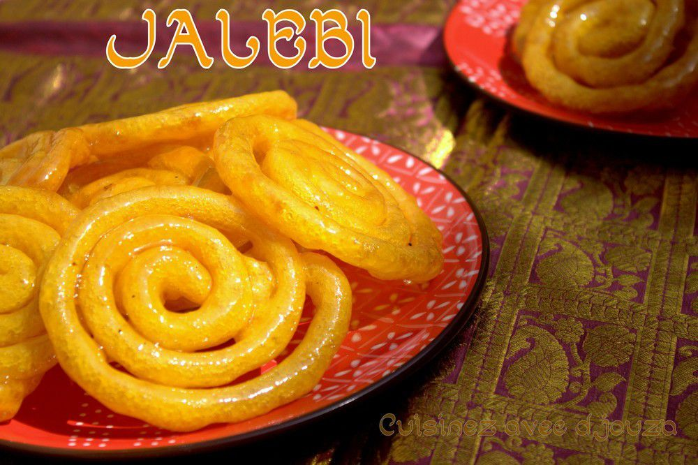 Jalebi, le zlabia version indienne