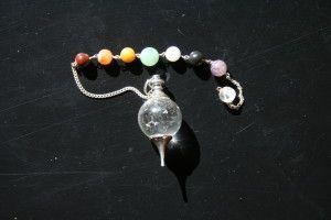 Pendule Séphoroton en cristal de roche