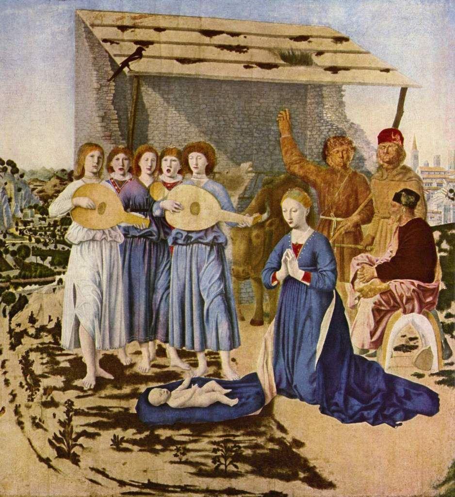Nativité de Piero de la Francesca