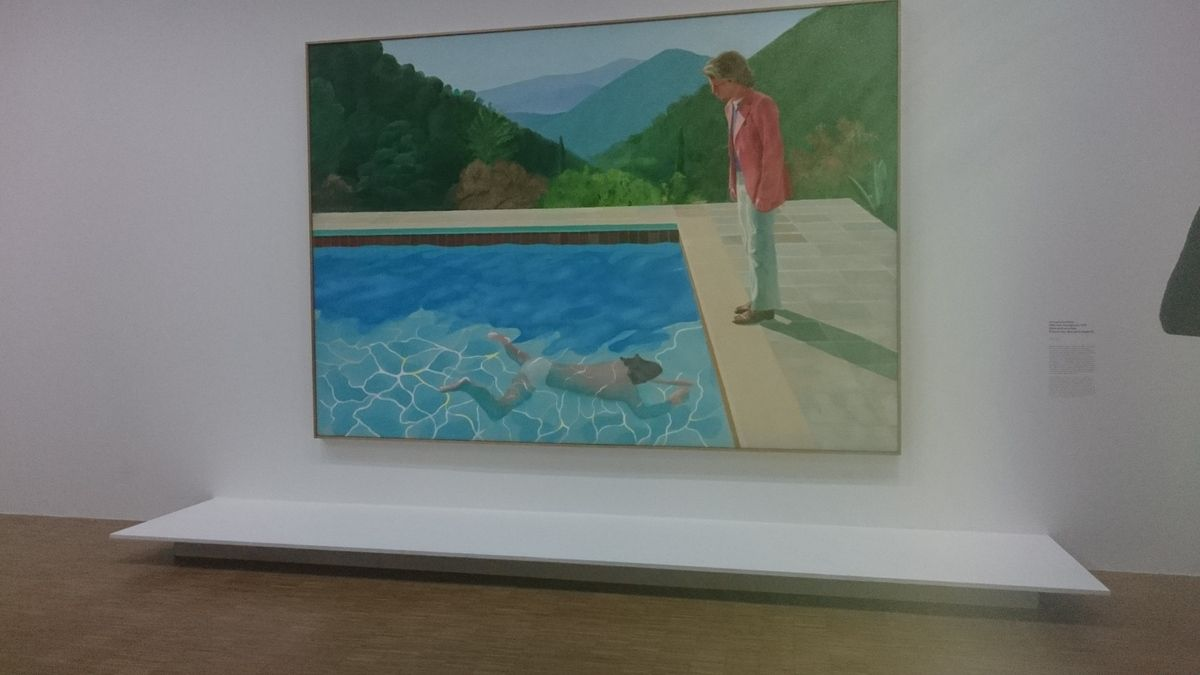 Hockney à Beaubourg