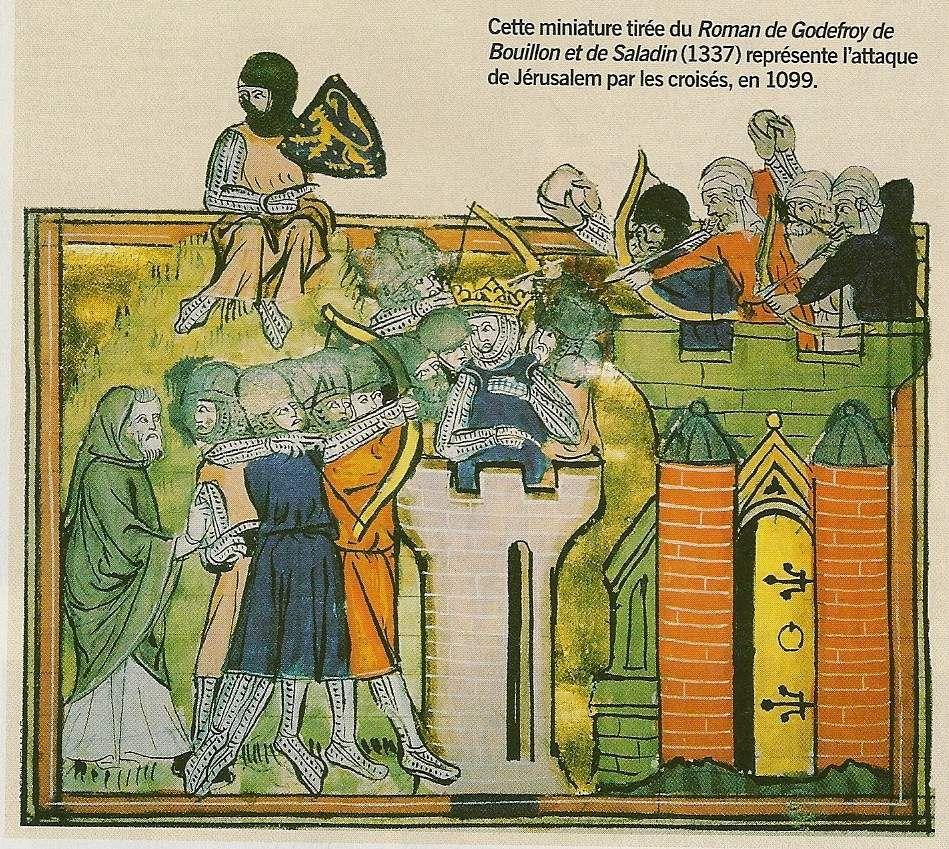Activité 5ème # La première croisade