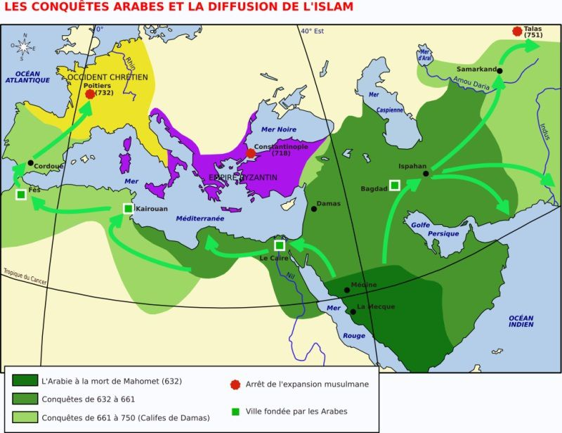 Activité 5ème # La diffusion de l'Islam