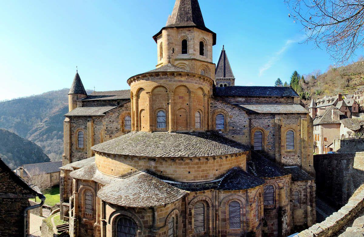 abbaye de conques 2nde Histoire