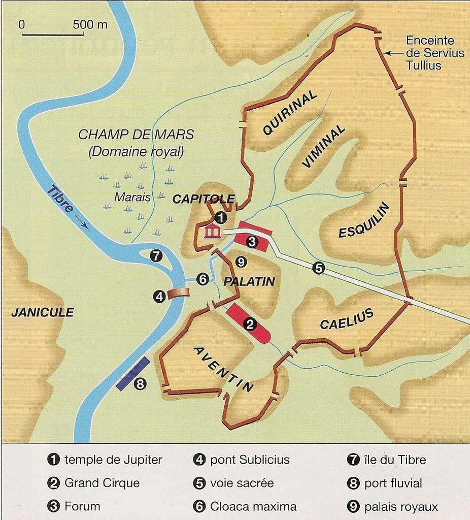 Activité 6ème # Rome (Naissance et République romaine)