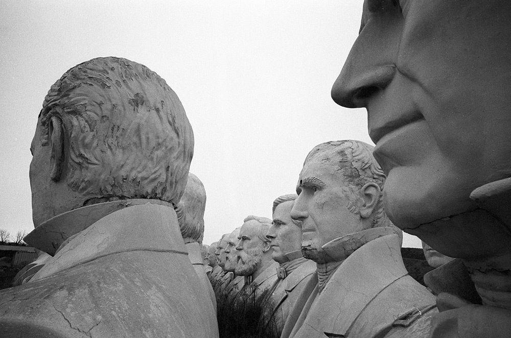 ART-SCULPTURE-Statues présidents américains-USA