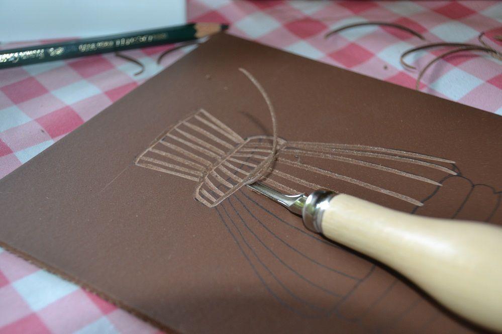 Gravure sur linoléum
