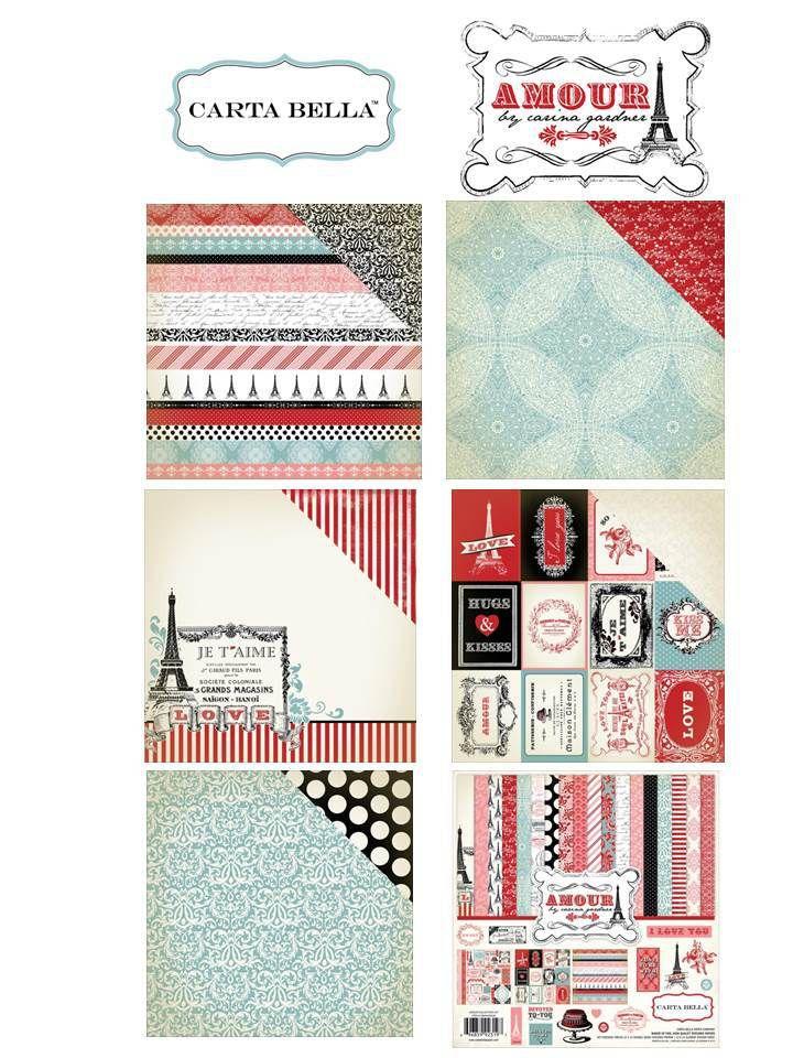 Nouvelles collections CARTA BELLA &amp&#x3B; KAISERCRAFT
