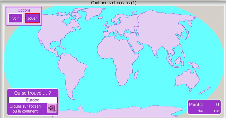 Revoir La Localisation Des Continents Et Des Oceans Histoire Geographie Education Civique