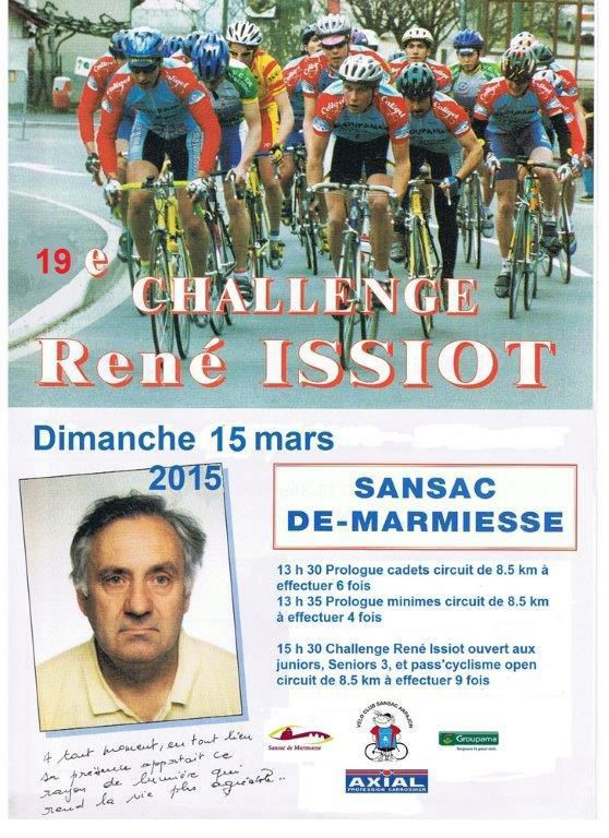Dimanche, Challenge René Issiot