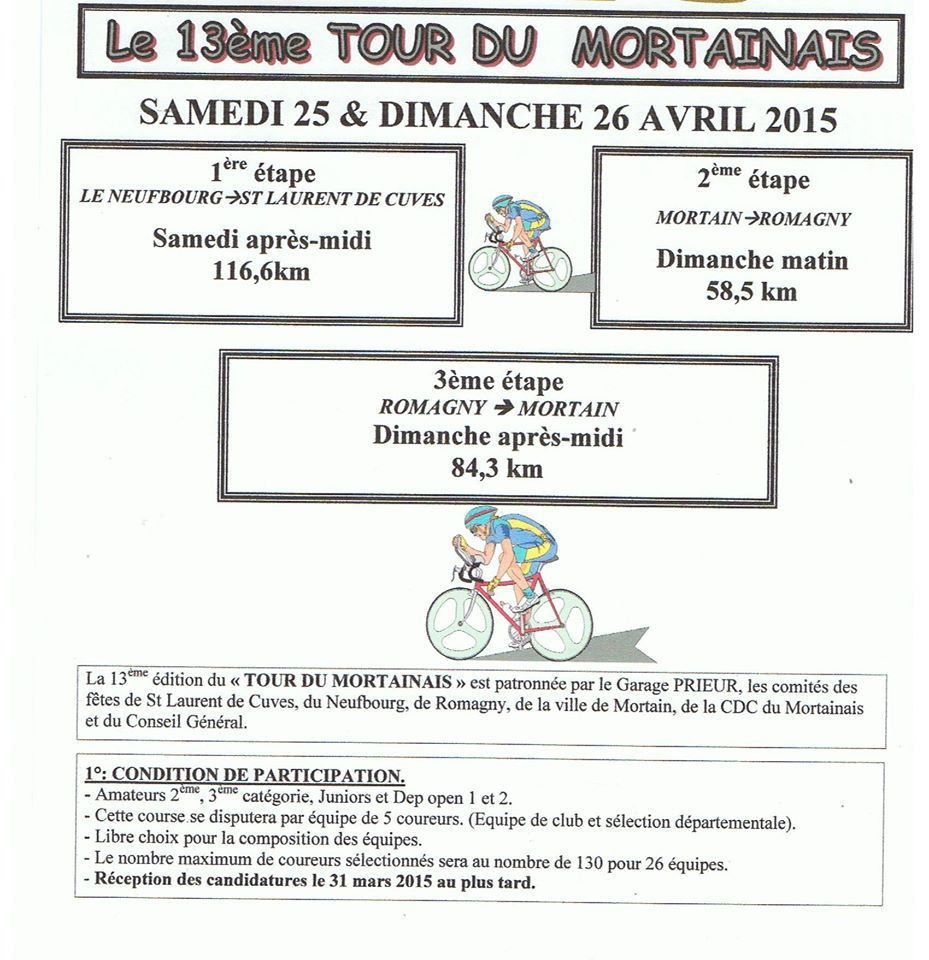 Tour du Mortainais