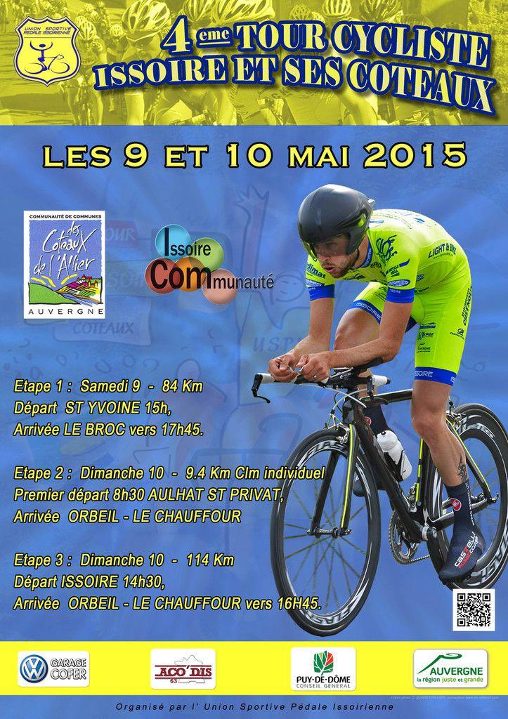 Ce week-end, Tour d'Issoire et ses coteaux