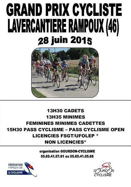 Demain, Grand Prix de Lavercantière Rampoux