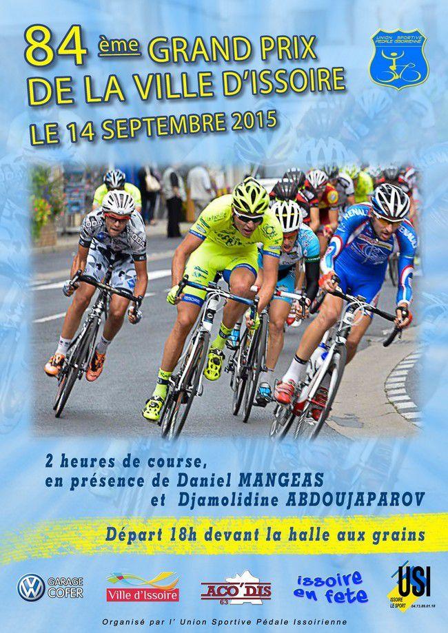 Lundi, Grand Prix de la ville d'Issoire