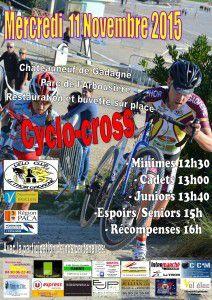 Demain, cyclo-cross de Châteauneuf-de-Gadagne