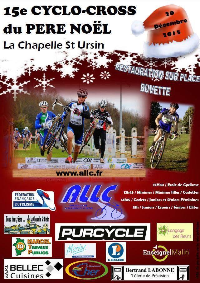 Dimanche, cyclo-cross du Père Noël