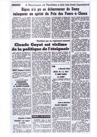 Il y a 50 ans ... (3 et 4 avril 1966)
