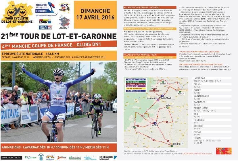 Tour du Lot-et-Garonne : Pro Immo ambitieux