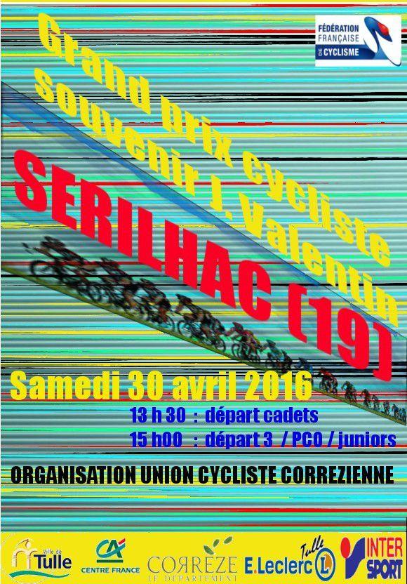 L'affiche du Grand Prix de Sérilhac