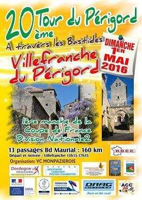 Dimanche, Tour du Périgord &quot&#x3B;A Travers les Bastides&quot&#x3B;