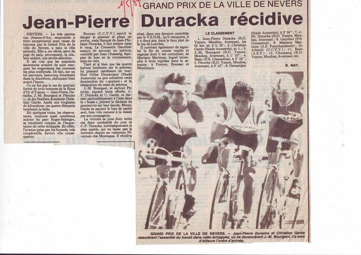 Journal La Montagne du 2 mai 1987