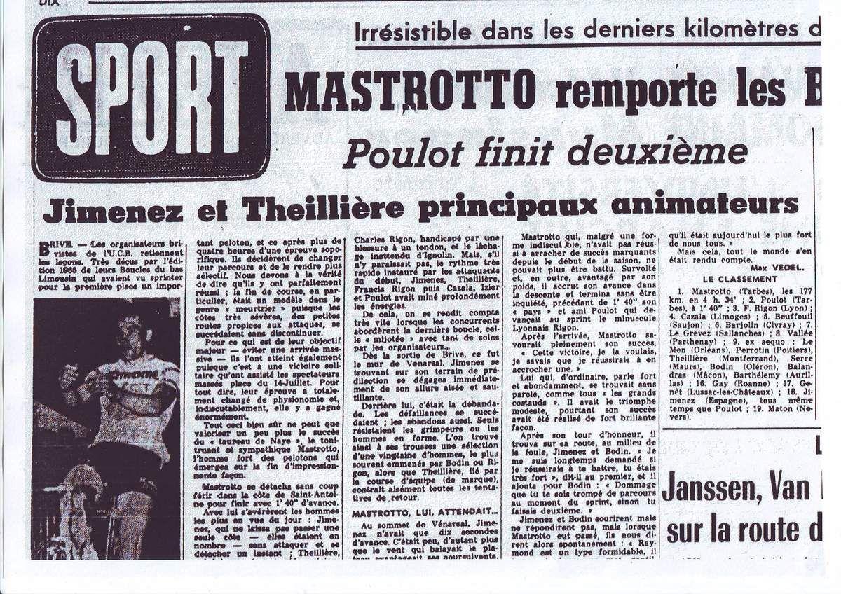 Boucles du Bas-Limousin 1966