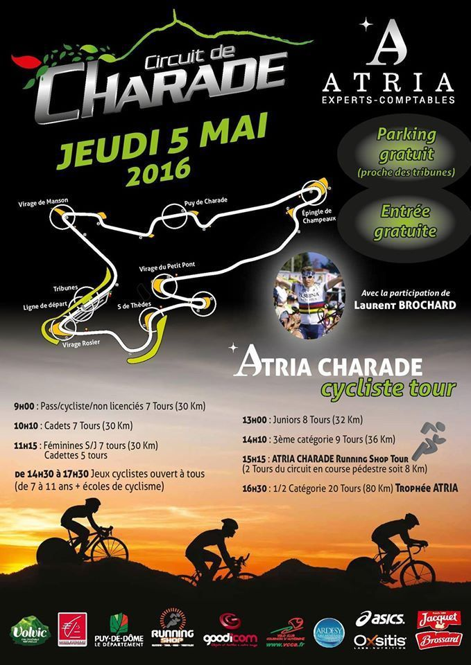 L'Atria Charade Cycliste Tour
