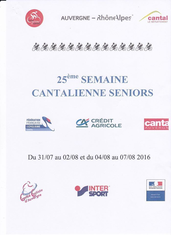 Semaine Cantalienne hommes