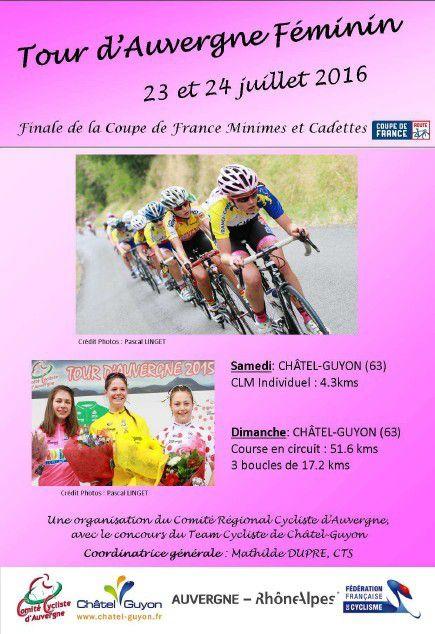 Tour d'Auvergne Féminin à Châtel-Guyon