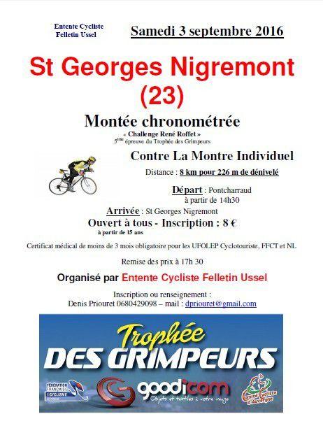 Samedi, Montée de Saint-Georges-Nigremont