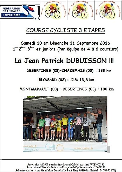 Ce week-end, Classic Jean-Patrick Dubuisson