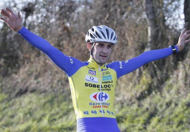 Valentin Cosnier vainqueur en 2015 (Photo La Nouvelle République)