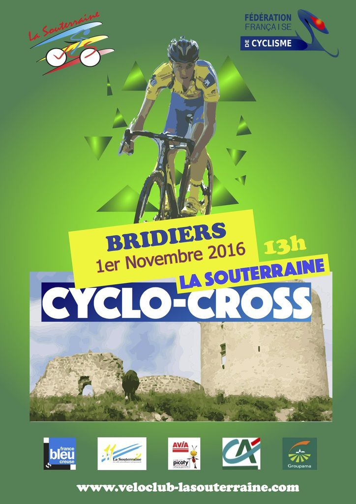 Demain, cyclo-cross de Bridiers