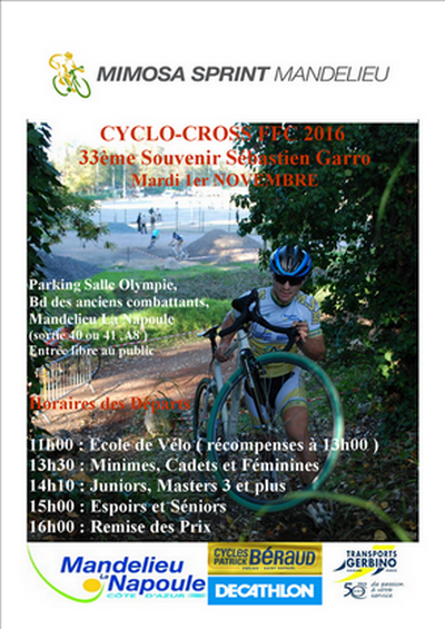 Cyclo-cross de Mandelieu