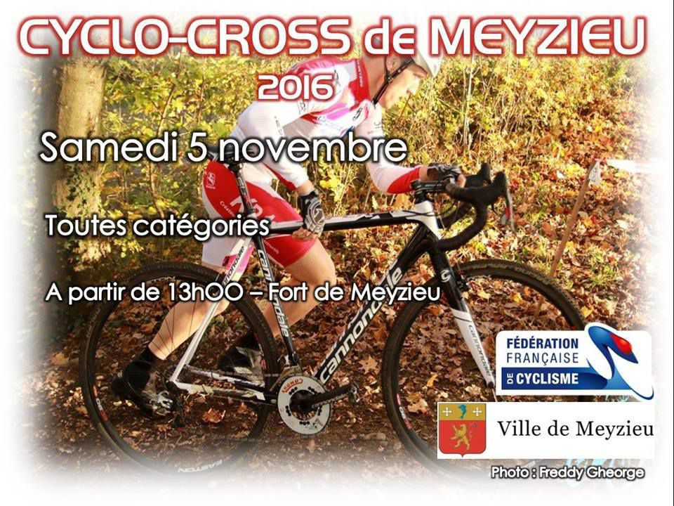 Demain, cyclo-cross de Meyzieu