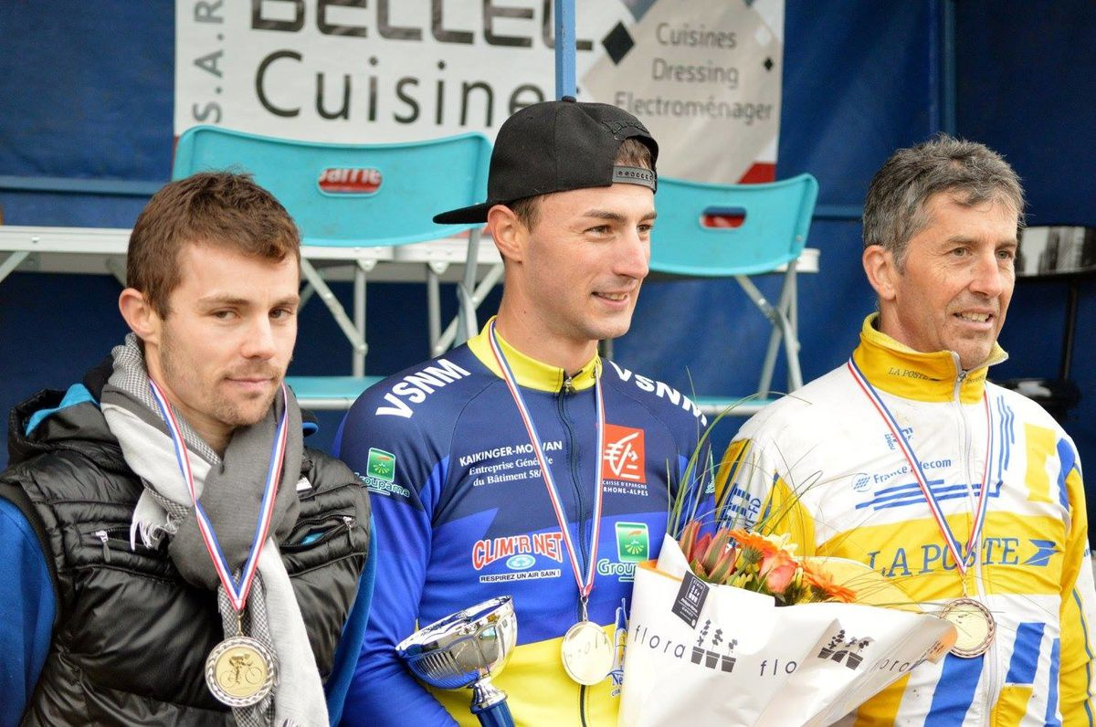 Le podium des seniors (photo Laurine Philippe)