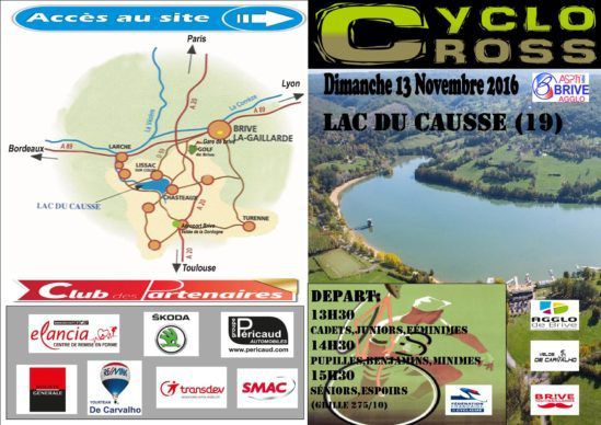 Cyclo-cross de Brive Lac du Causse