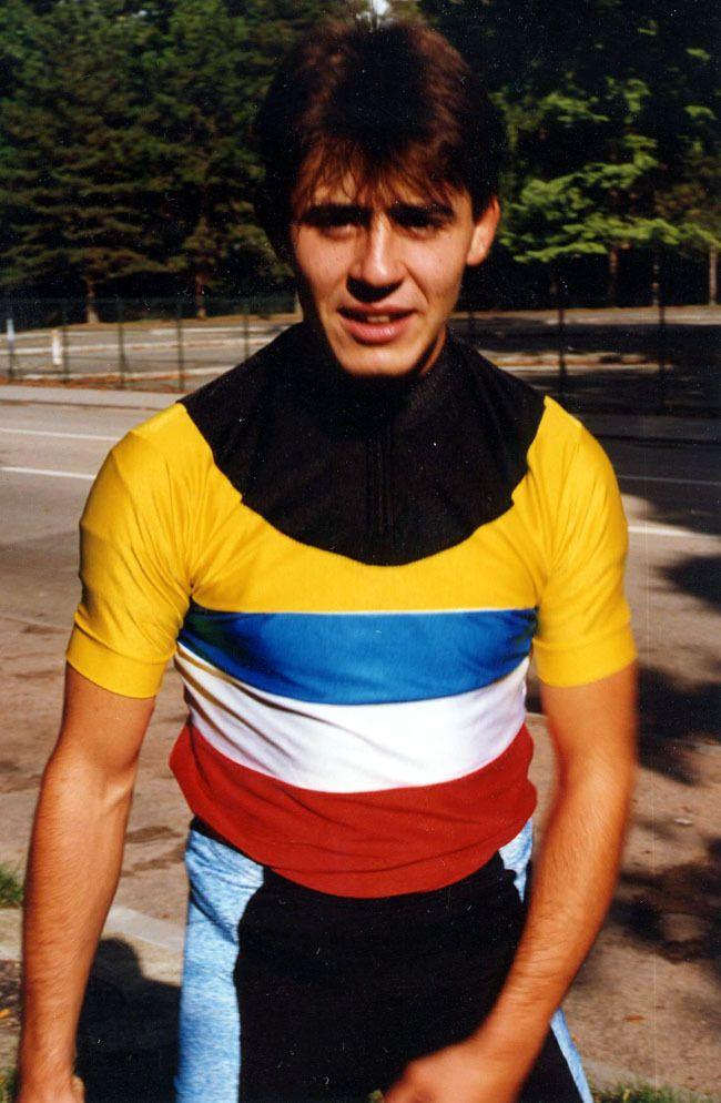 Serge Barbara, champion de France de la course aux points en 1994, 1995 et 1998
