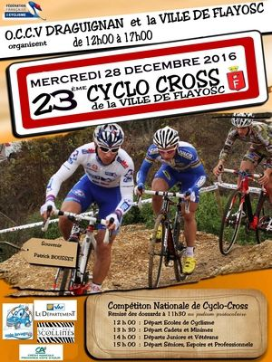 Demain, cyclo-cross de Flayosc