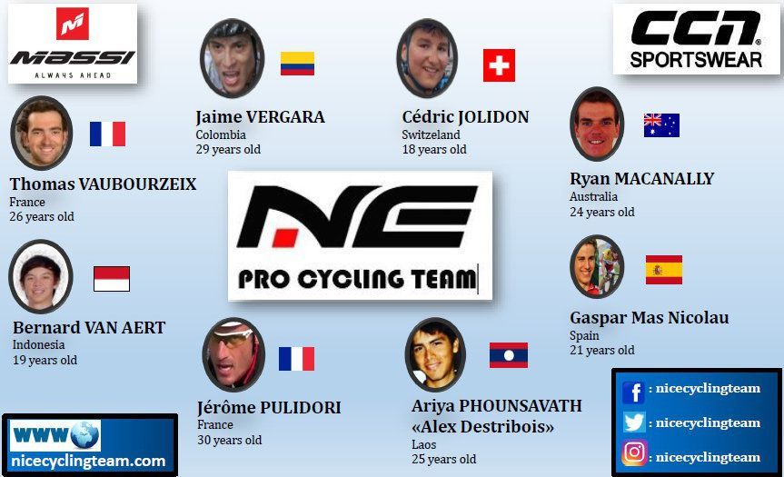 NICE Pro Cycling Team se dévoile