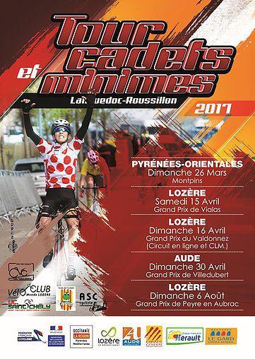 Tour du Languedoc-Roussillon minimes et cadets