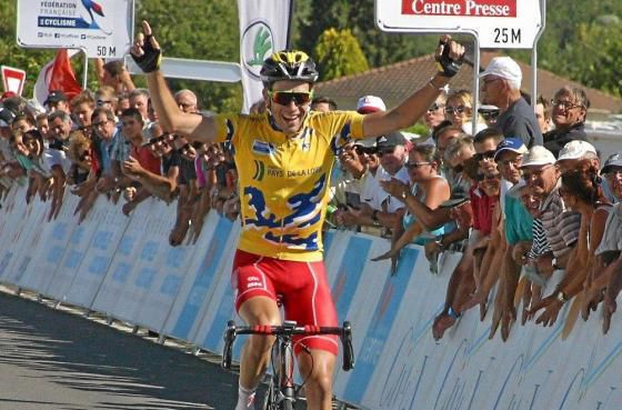 Paul Ourselin, champion de France espoirs et vainqueur de la dernière édition (Photo Ouest-France)